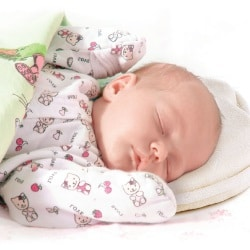 Ортопедическая подушка для новорожденных как использовать