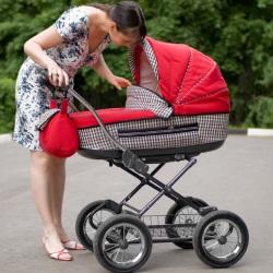 Choose a stroller for newborns