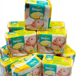 Purchase diapers in the online store.