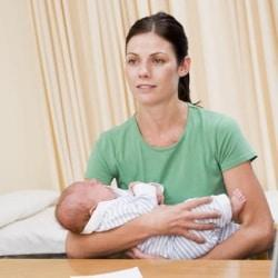 Hospital after cesarean section: procurement, complicated labor, additional hospital.